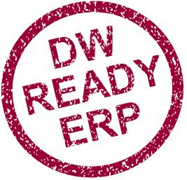 Adattárház Ready ERP pecsét