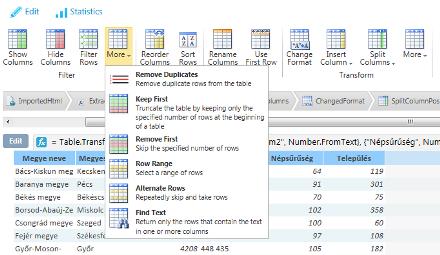 Wikipédia oldal beolvasása a Data Explorerrel
