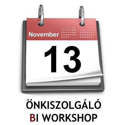 III. Önkiszolgáló BI workshop (Excel Dashboard és PowePivot tanf.)