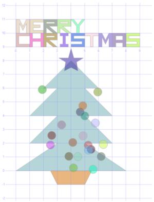 SQL Spatial karácsonyfa